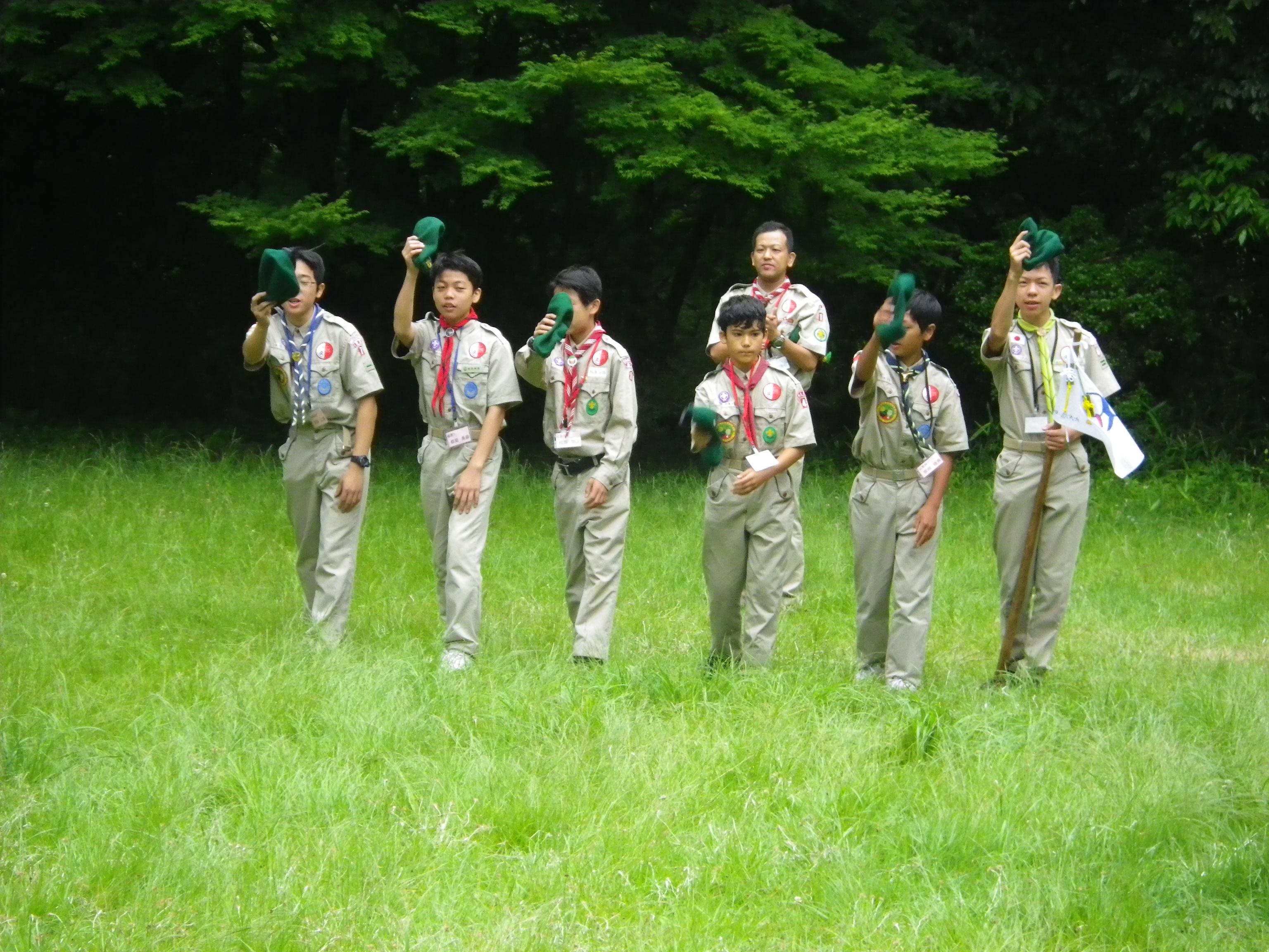 パトロールリーダーキャンプ奈良2018